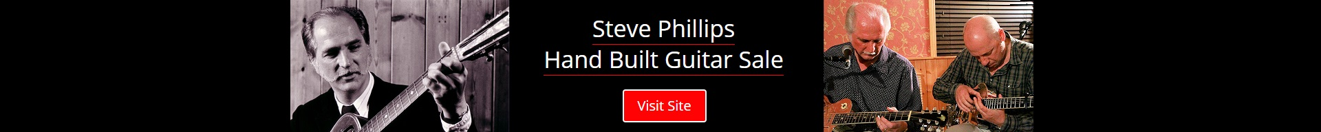 Steve Phillips Hand Built Guitars For Sale