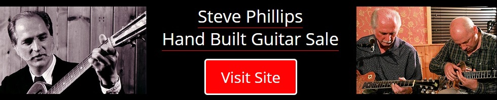Steve Phillips Hand Built Guitar Sale