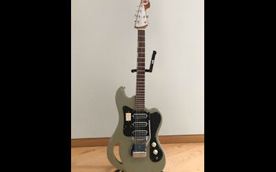 Win Mark's Teisco Guitar