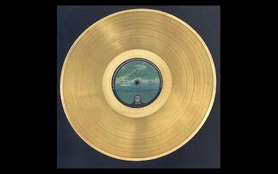 Win John's Gold disc